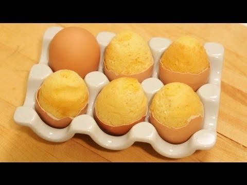 Bake A Cake Inside An Egg