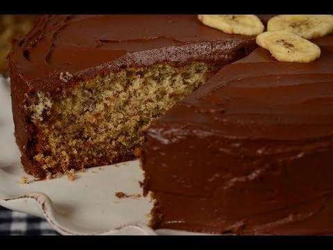 Banana Cake Recipe Demonstration – Joyofbaking.com