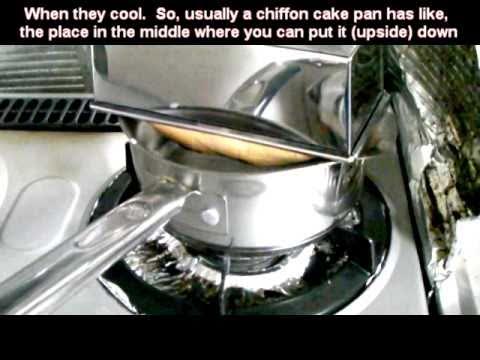 Baking Cakes in Japan