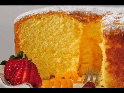 Orange Chiffon Cake Recipe Demonstration – Joyofbaking.com