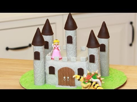 HOW TO MAKE A CASTLE CAKE – NERDY NUMMIES