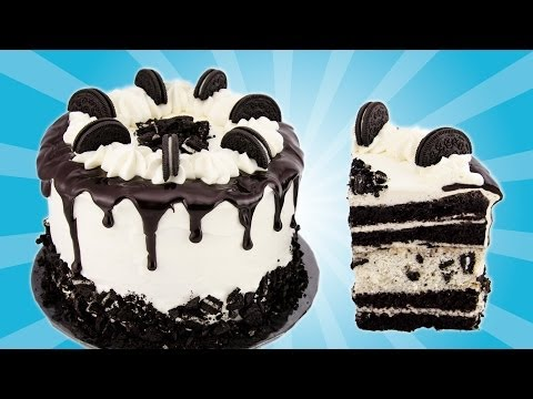 Oreo Cake Recipe from Cookies Cupcakes and Cardio