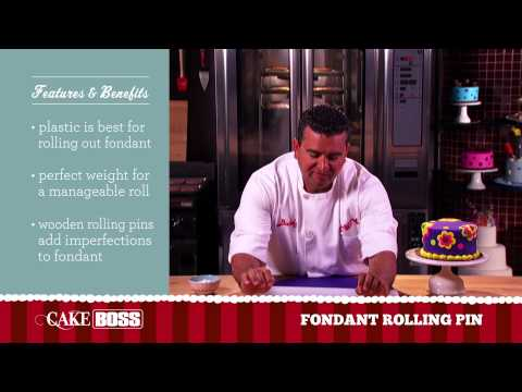 Best Fondant Rolling Pin – Cake Decorating Tools – Cake Boss Baking