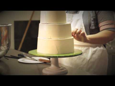 SHINE BRIGHT BAKING Wedding Cake Video
