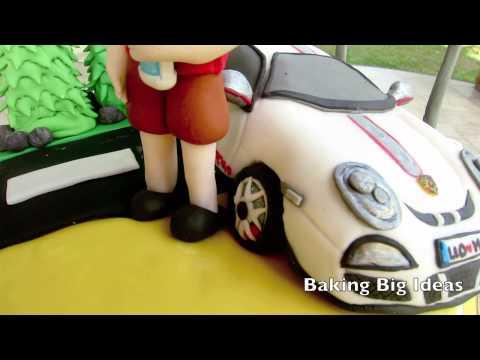 Porsche GT3 RS 4.0 Cake : Baking Big Ideas