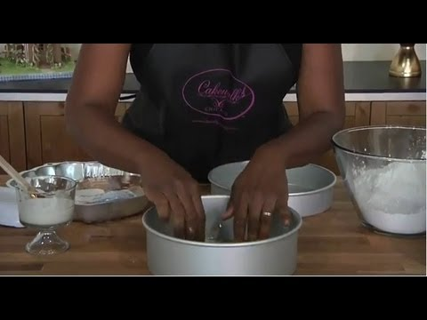 How to Prepare Pan (Cake Baking Video)