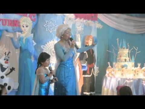 Frozen Cake, Frozen Birthday Party, Let it Go,– Baking Big Ideas