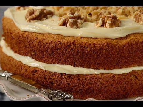 Carrot Cake Recipe Demonstration – Joyofbaking.com