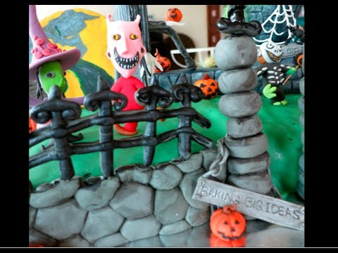 Baking Big Ideas Halloween Cakes