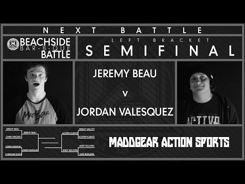 Beachside Bar-B-Que Battle | Jeremy Beau vs Jordan Valesquez