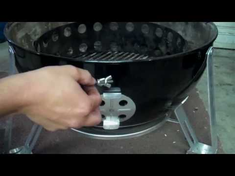 Stoker by Rock's Barbque: WSM Adapter Installation