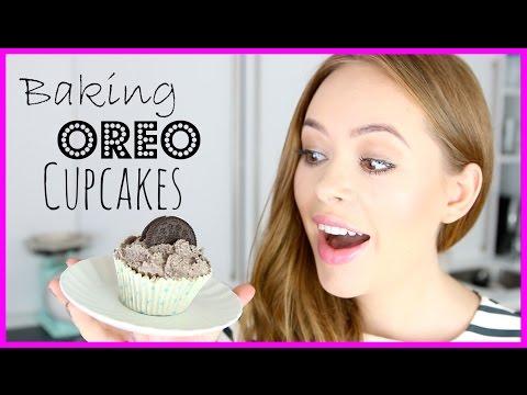 Baking Oreo Cupcakes! | Tanya Burr