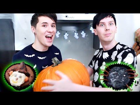 Halloween Baking – SPOOKY CUPCAKES