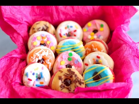 "French Macaron ""Donuts"" (Easy to Make Recipe) – Gemma's Bigger Bolder Baking Ep. 23"