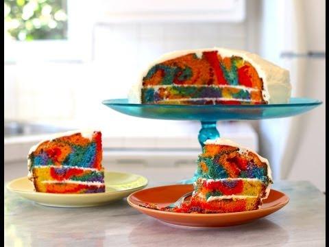 Rainbow Cake – Gemma's Bigger Bolder Baking Episode 1 – Gemma Stafford