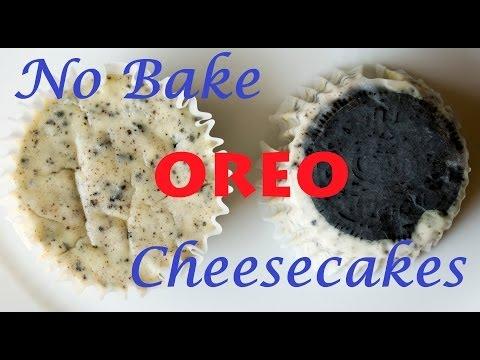 No-Bake Oreo Cheesecakes {Easy Baking Video} | Sma