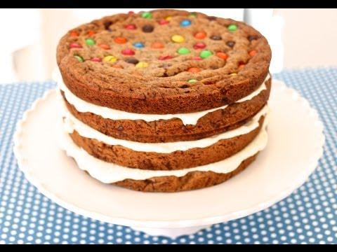 Chocolate Chip Cookie Cake – Gemma's Bigger Bolder Baking Episode 2 – Gemma Stafford