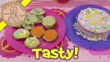 2014 Lalaloopsy Kids Baking Oven – Double Layer Cake, Sugar & Chocolate Chip Cookies!