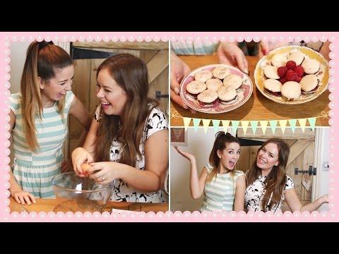 Baking Macarons with Tanya | Zoella