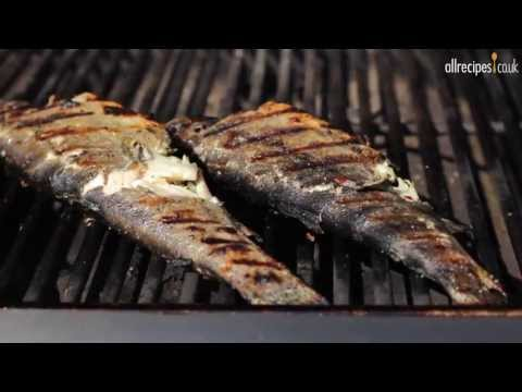 How to BBQ fish video – Barbecued stuffed trout