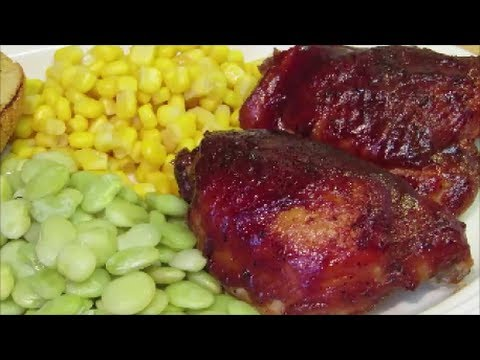 How to make Barbecue Chicken in the Oven – The Wolfe Pit