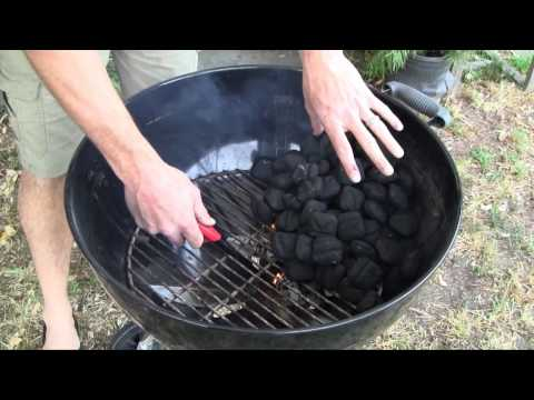 How to Start a Charcoal Grill With a BBQ Dragon