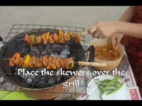 BBQ Chef's Original Mishkaki Recipe  & DIY Barbecue Setup