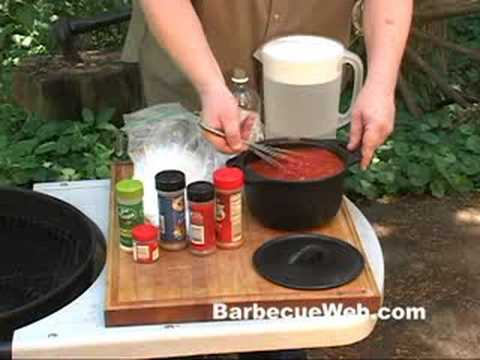 Barbecue Sauce recipe by the BBQ Pit Boys