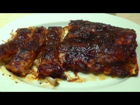 BBQ Ribs How to Cook — Make Barbecue Marinade Sauce Dip