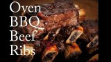 How to Make Oven Barbecued Beef Ribs