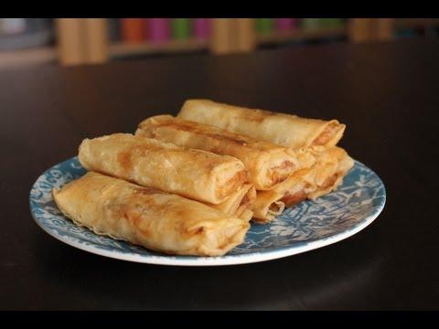 How to Make Turon (Filipino Dessert)