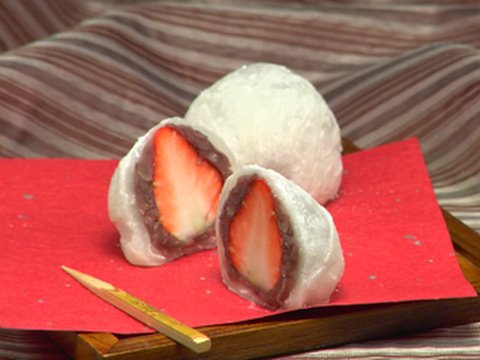 How to Make Strawberry Daifuku (Ichigo Daifuku Recipe) いちご大福 作り方レシピ