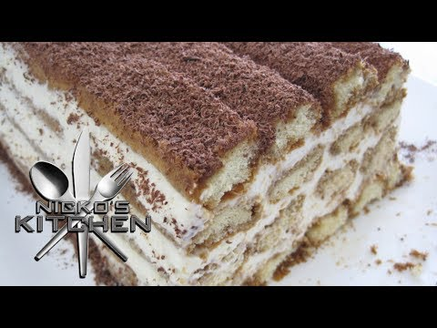 HOW TO MAKE TIRAMISU – VIDEO RECIPE