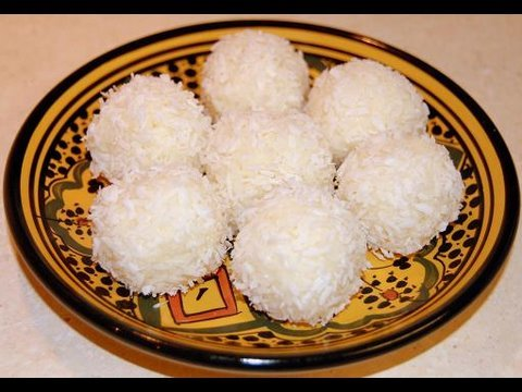 Moroccan Coconut Truffles