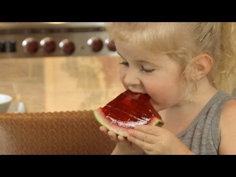 How to Make Jello Watermelon – Let's Cook with ModernMom