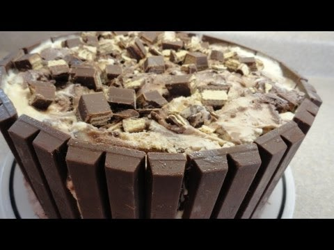 Kit Kat Candy Bar Ice Cream Cake – with yoyomax12