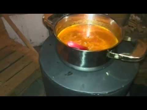 "Rocket Stove ""Making Dinner"""