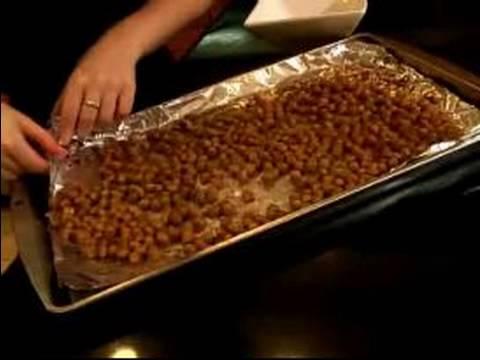 Vegan Dinner Party Recipes : Making Chickpea Appetizers for Vegan Dinner Recipes