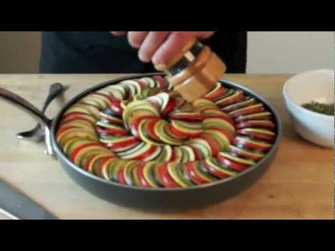 Ratatouille Casserole – Bruno Albouze – THE REAL DEAL