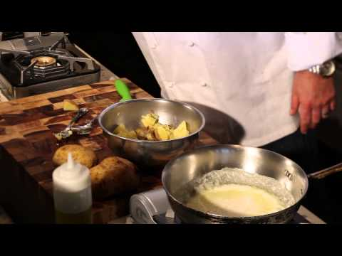 How to Make Garlic Potatoes : Great Dinner Recipes