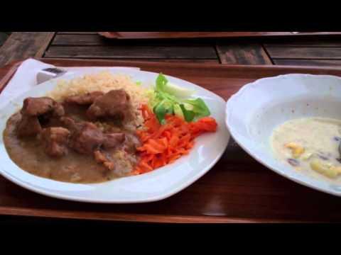Czech Food-Lunch at U Karla Restaurant-České Budějovice, Budweis