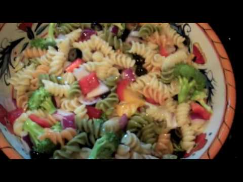 How To Make: Tri-Color Pasta Salad