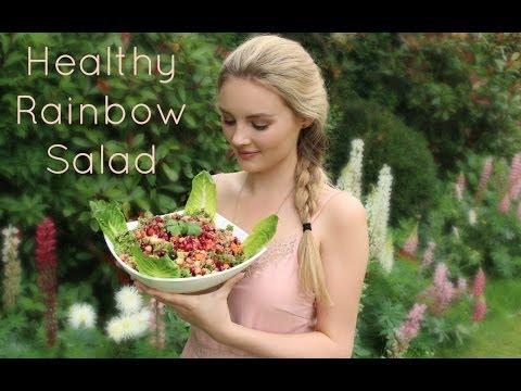 Healthy Rainbow Salad | Niomi Smart