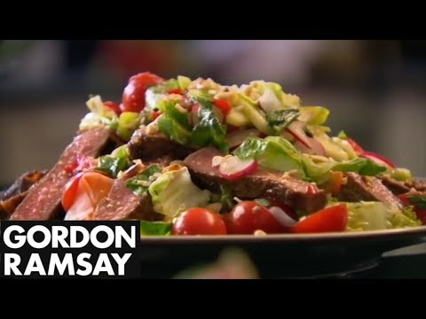 How to Cook Steak and Spicy Beef Salad Recipe – Gordon Ramsay