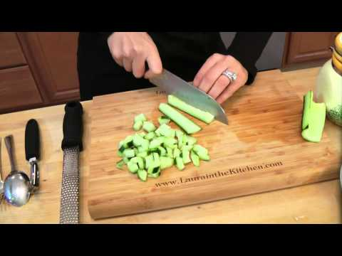 How to make Couscous Salad – Recipe by Laura Vitale – Laura in the Kitchen Ep 98