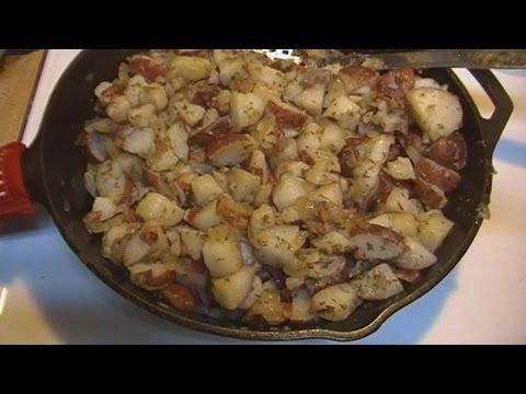 Hot German Potato Salad!  Noreen's Kitchen Family Favorite!