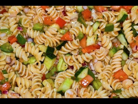 Italian Dressing Pasta Salad – Healthy Dish How to Make Pasta Salad