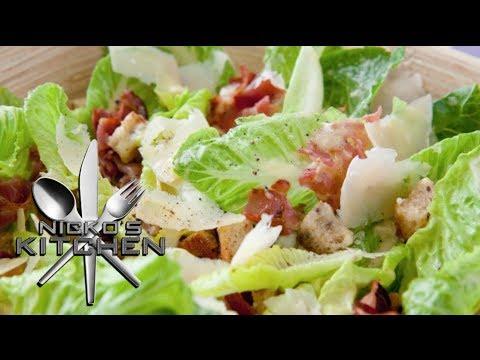 CAESAR SALAD – VIDEO RECIPE