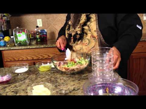 Barbecue Shrimp Salad : Making Salads