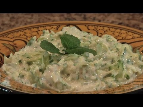 Indian-Style Cucumber & Yogurt Salad : Soups & Salads